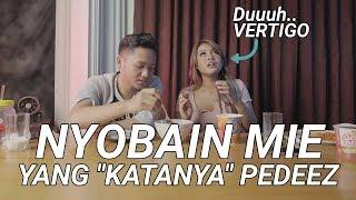 REVIEW MIE TERPEDAS DI INDONESIA ft AZRIEL HERMANSYAH | PEDASNYA BIKIN LAMBUNG BOCOR