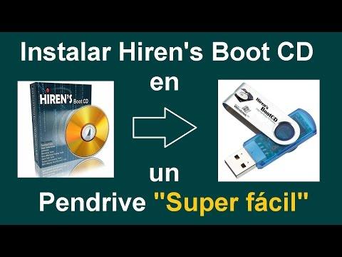 Como Instalar Hiren's Boot CD en una Memoria Flash