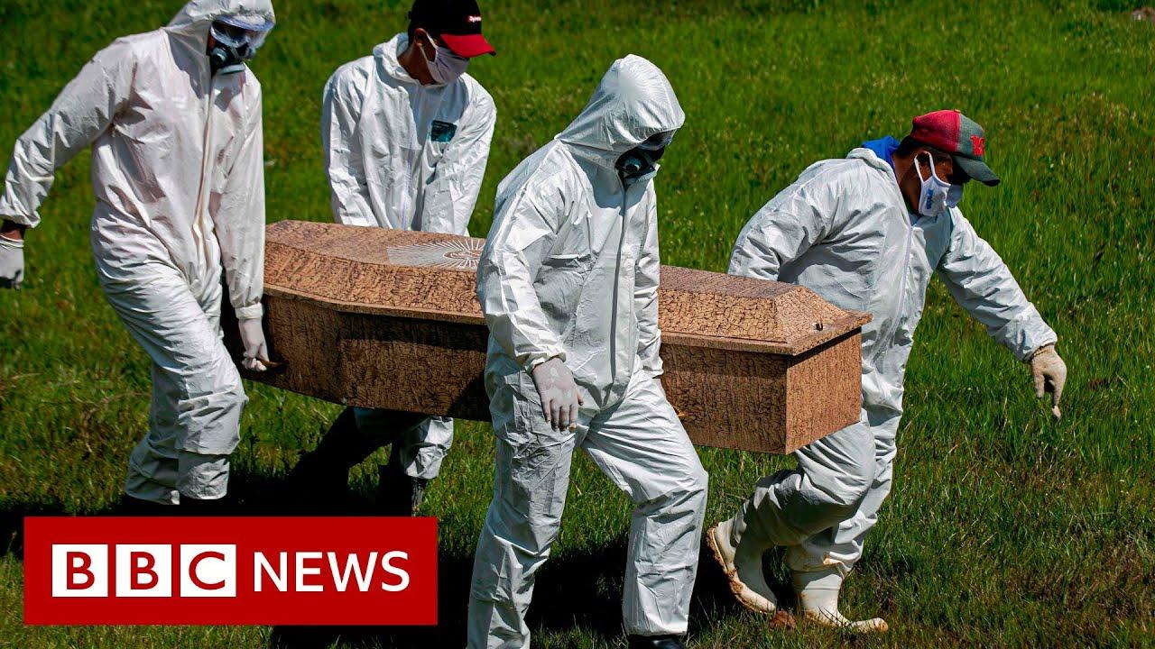 Coronavirus: Hard-hit Brazil removes data amid rising death toll - BBC News