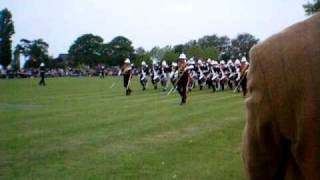 Royal Marines Beating Retreat 2009 Rehearsal Pt 9 - March off to Mountbatten march