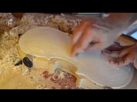 Baroque Violin A. Amati. Proceso de construcción de un Violín Andrea Amati Barroco.