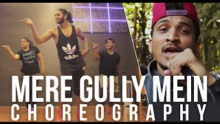 Meri Gully Main Dance Choreography by  Melvin Louis | #GullyGang