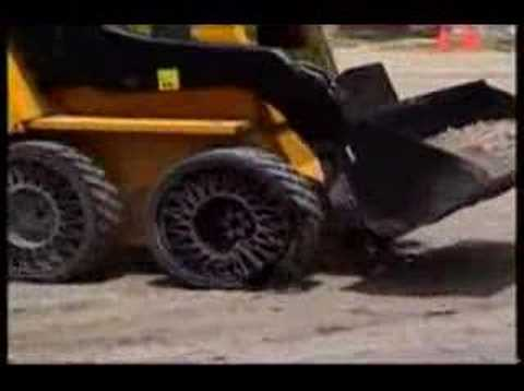 Tire For Less >> Michelin's Revolutionary Airless Tires - YouTube