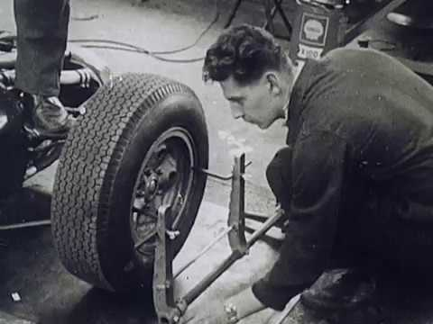 Graham Hill talks about his Formula 1 car setup in 1964