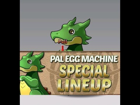 [Puzzle and Dragons] Pal Egg Machine Special Lineup! (Part 2) thumbnail