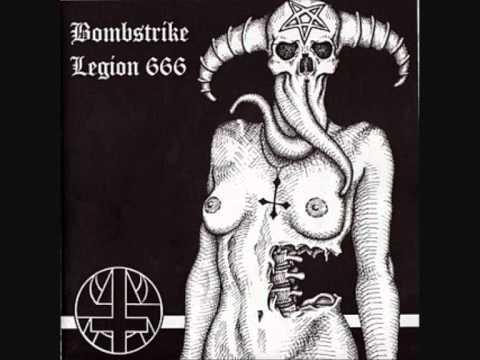 "Download BOMBSTRIKE & LEGION 666 - ""Temple Of Blasphemy"" (split EP, 2004)"
