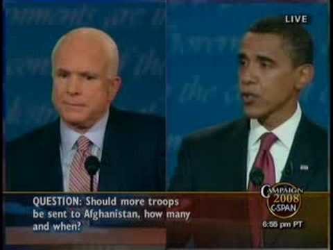 09/26/08 Obama on Afghanistan - Debate
