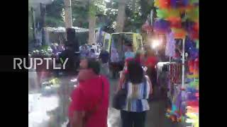 Portugal: Moment of horror - 12 dead after tree falls on festival goers in Madeira