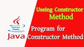 Programming in Java Useing Constructor Method   Akib's Tricks BD