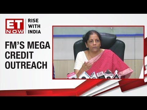 Finance Minister Nirmala Sitharaman addresses media after meeting with private sector banks