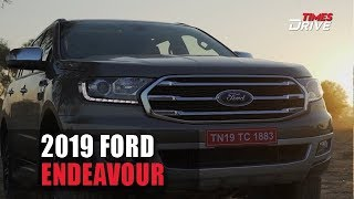2019 Ford Endeavour facelift | Interior, Exterior, Features and Specs