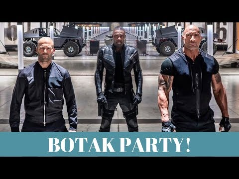 Review HOBBS AND SHAW - The Fast And The Furious BINGITS! - Abis Nonton 14.0