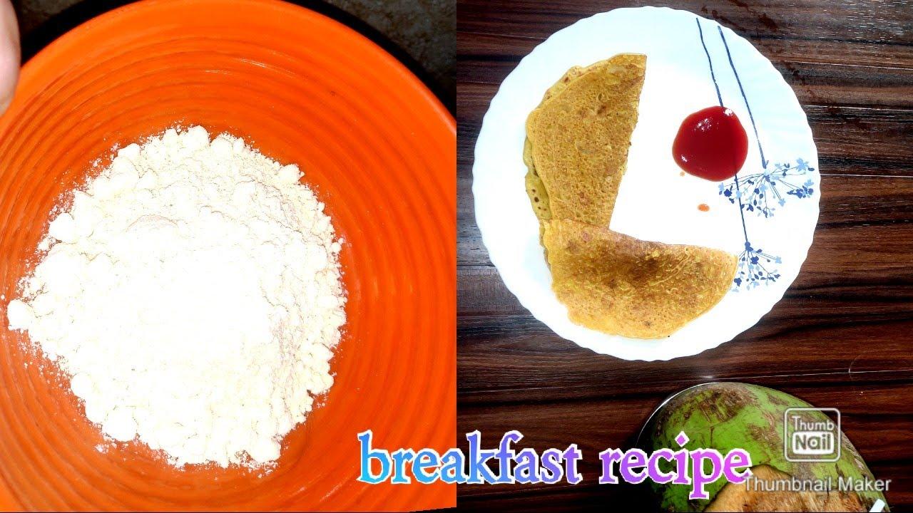 বেচনৰ breakfast recipe/ বেচনৰ চিলা/ besan breakfast