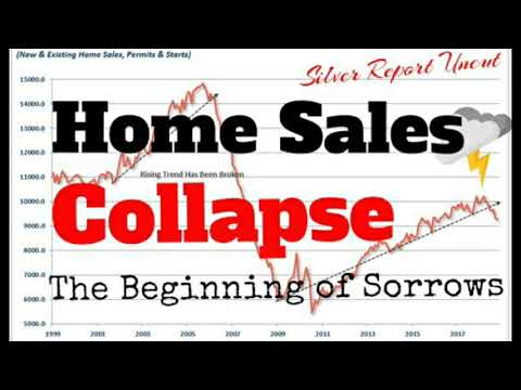 Economic Collapse News New Home Sales Crash! Picking up the Housing Crisis where we left off