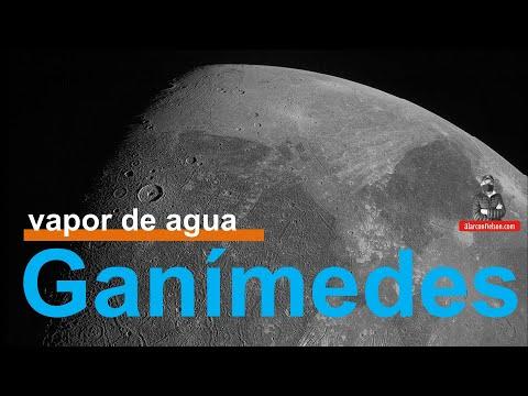 Confirman presencia de vapor de agua en Ganímedes - luna de Júpiter