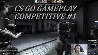 First Time Competitive CS GO | Counter Strike Global Offensive Gameplay