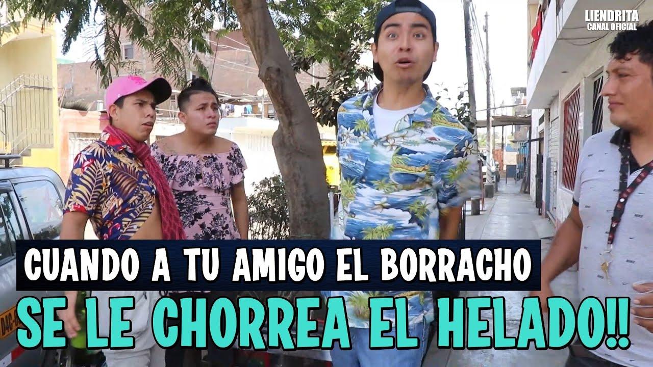 CUANDO A TU MARIDO BORRACHO SE LE CHORREA EL HELADO!!