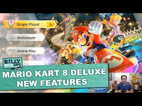 Mario Kart 8 Deluxe on Nintendo Switch! Billy Says Check it Out - Toy Insider