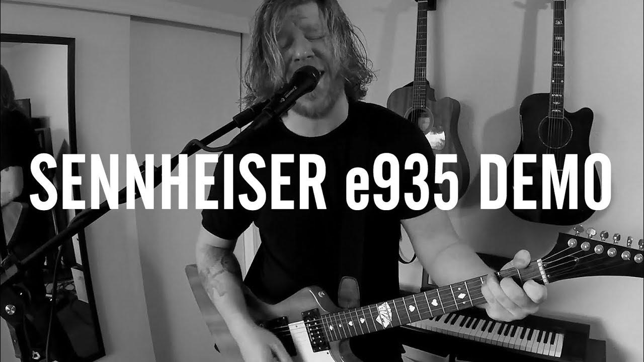 Sennheiser E935 Demo Review New Original Song Youtube