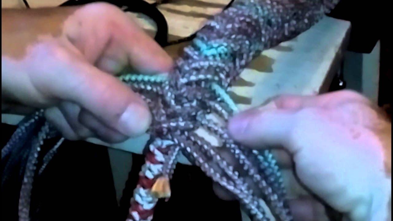 Плетение кнута из кожи схемы