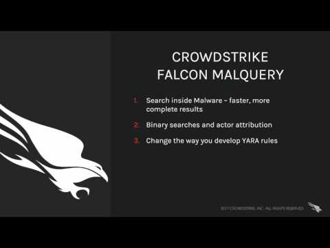 CrowdStrike Falcon MalQuery – The faster, more complete malware search engine