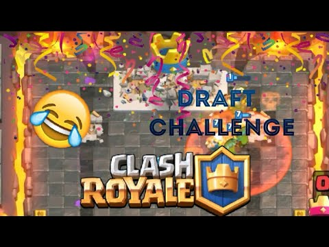 clash royale how to win draft challenge