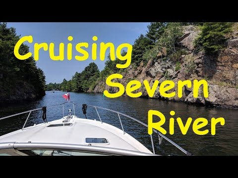 Cruising The Severn River - Epic 2018 Boat Cruise Part 15