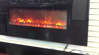 Wall Hanging Electric Fireplace At Seconds And Surplus Building Materials