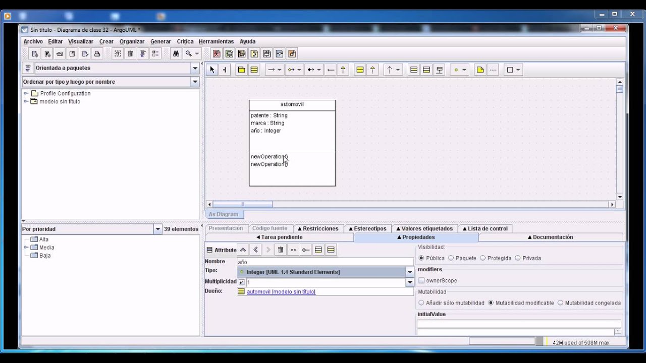 how to draw sequence diagram in argouml