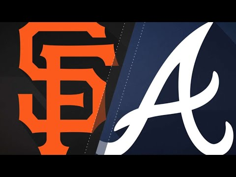 6-run 2nd inning propels Giants past Braves: 5/4:18