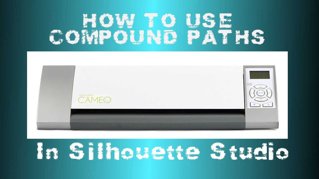 Silhouette - Compound Paths/Delete Double Lines - YouTube