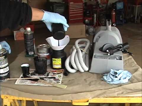 Harbor freight hvlp 44677 chicago electric power tools for Hplv paint sprayer