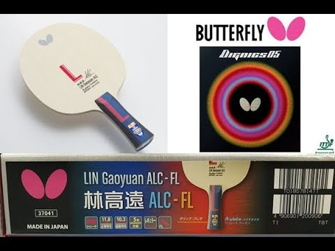 Butterfly LIN Gaoyuan ALC With Dignics 05 EP.2  (Topspin +Match Play)   Pingpongthaibaan