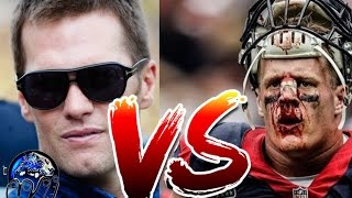 TOM BRADY VS JJ WATTLESS TEXANS! WILL PATS RAPE AND PILLAGE THE TEXANS VILLAGE? NFL 2017