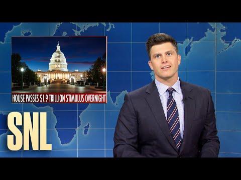 Weekend Update: House Passes Biden's Stimulus Bill - SNL