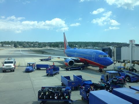 Southwest Airlines 737-700 Flight MHT-MCO