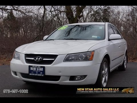 Good 2008 Hyundai Sonata Limited Sedan