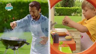 Szett házikó kerti büfével Chef House DeLuxe Smoby