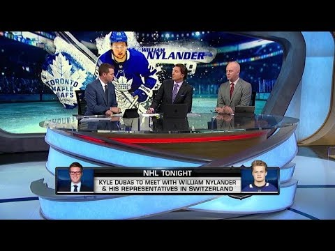 NHL Tonight:  William Nylander:  Latest developments from Nylanders` contract talks  Oct 17,  2018