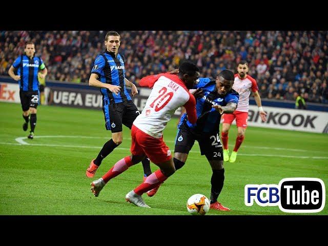 2018-2019 - Europa League - 02. 16de Finale - Red Bull Salzburg - Club Brugge 4-0