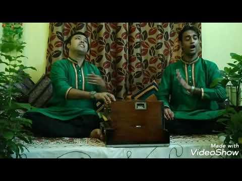 Anirban Das & Diptam Sinha Biswas Duet Vocal Raag Rageshree Bangla Ragpradhan 8.5 Matra