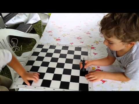 World's youngest chess instructor (5 yo)