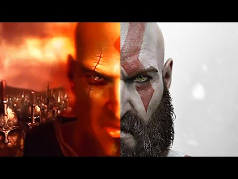 GOD OF WAR 4 Kratos Spartan Relics & His Past Cutscene PS4 (2018)