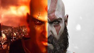 GOD OF WAR 4 Kratos Spartan Relics & His Past Cutscene PS4 (2018)