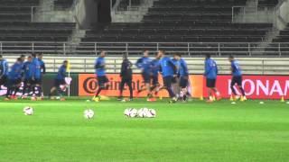 Προπόνηση Εθνικής Ανδρών | Greece National Team training 10-10-14