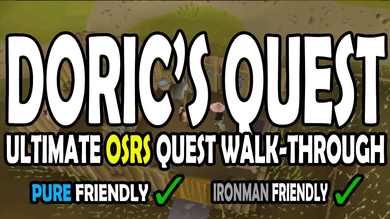 Doric quest guide osrs reddit