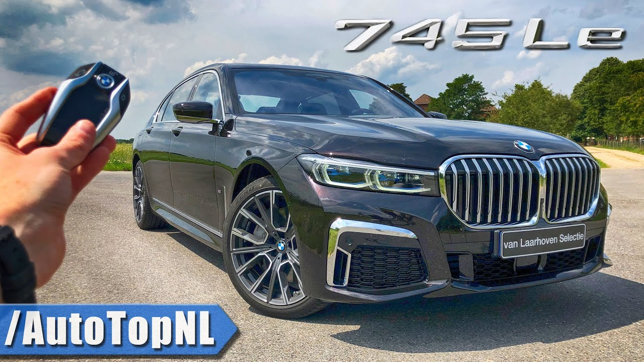 2020 Bmw 7 Series 745le Review Pov Test Drive On Autobahn Road By Autotopnl