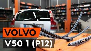 Achteras Rubbers monteren VOLVO V50 (MW): gratis video