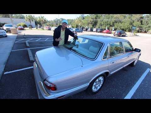 Here's a 2000 Jaguar XJ8 ( NOW ONLY $6000 ) 18 YEARS LATER REVIEW