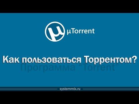 Как пользоваться (качать) торрентом. Программа Torrent.
